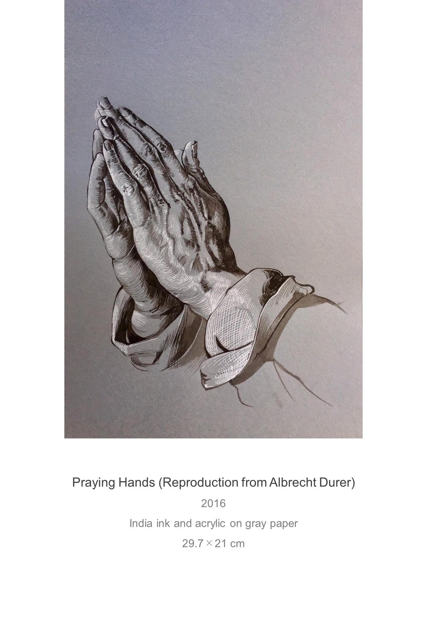 Shota Imai's Artwork of Praying Hands