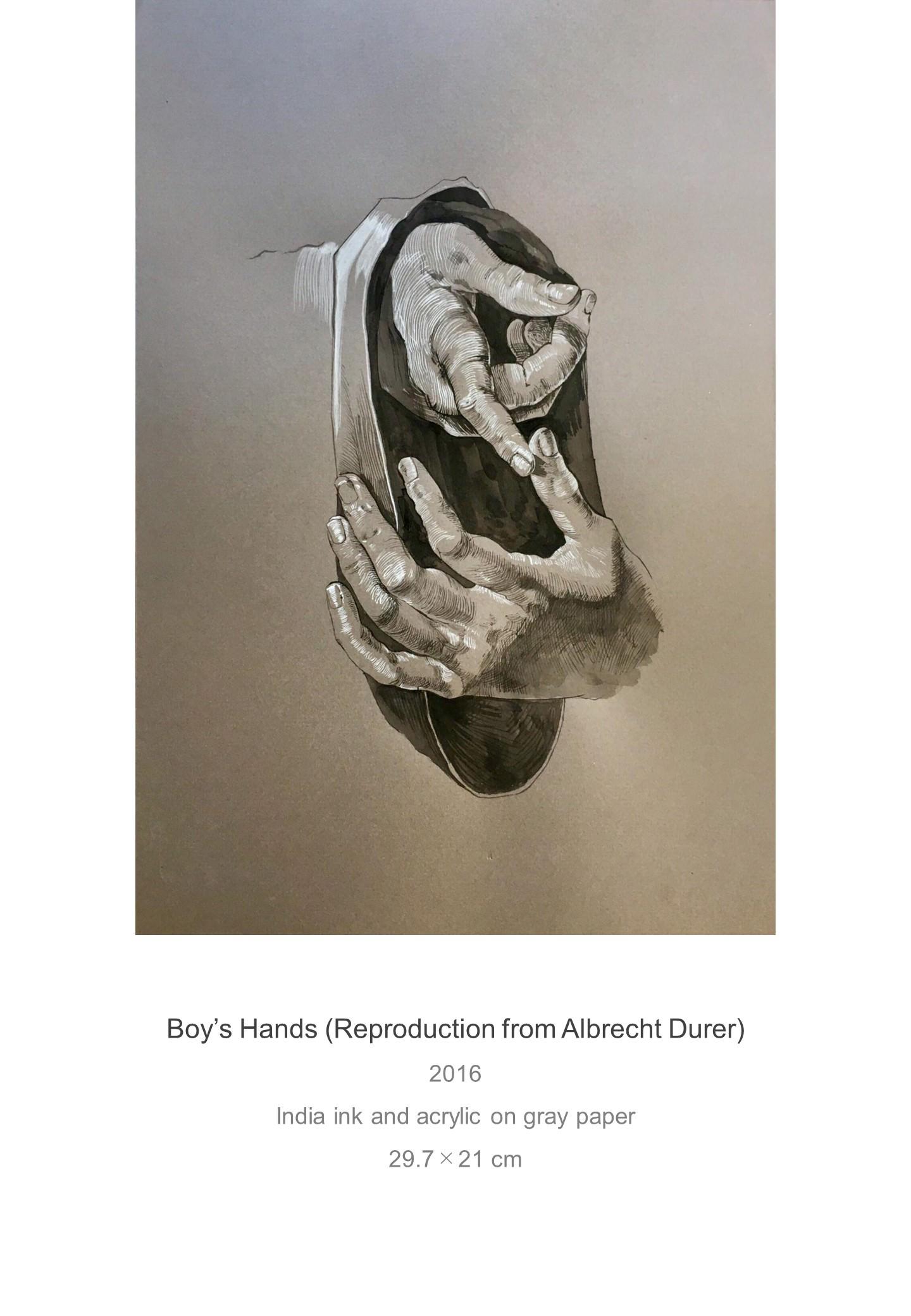 Shota Imai's Artwork of Boy's Hnads