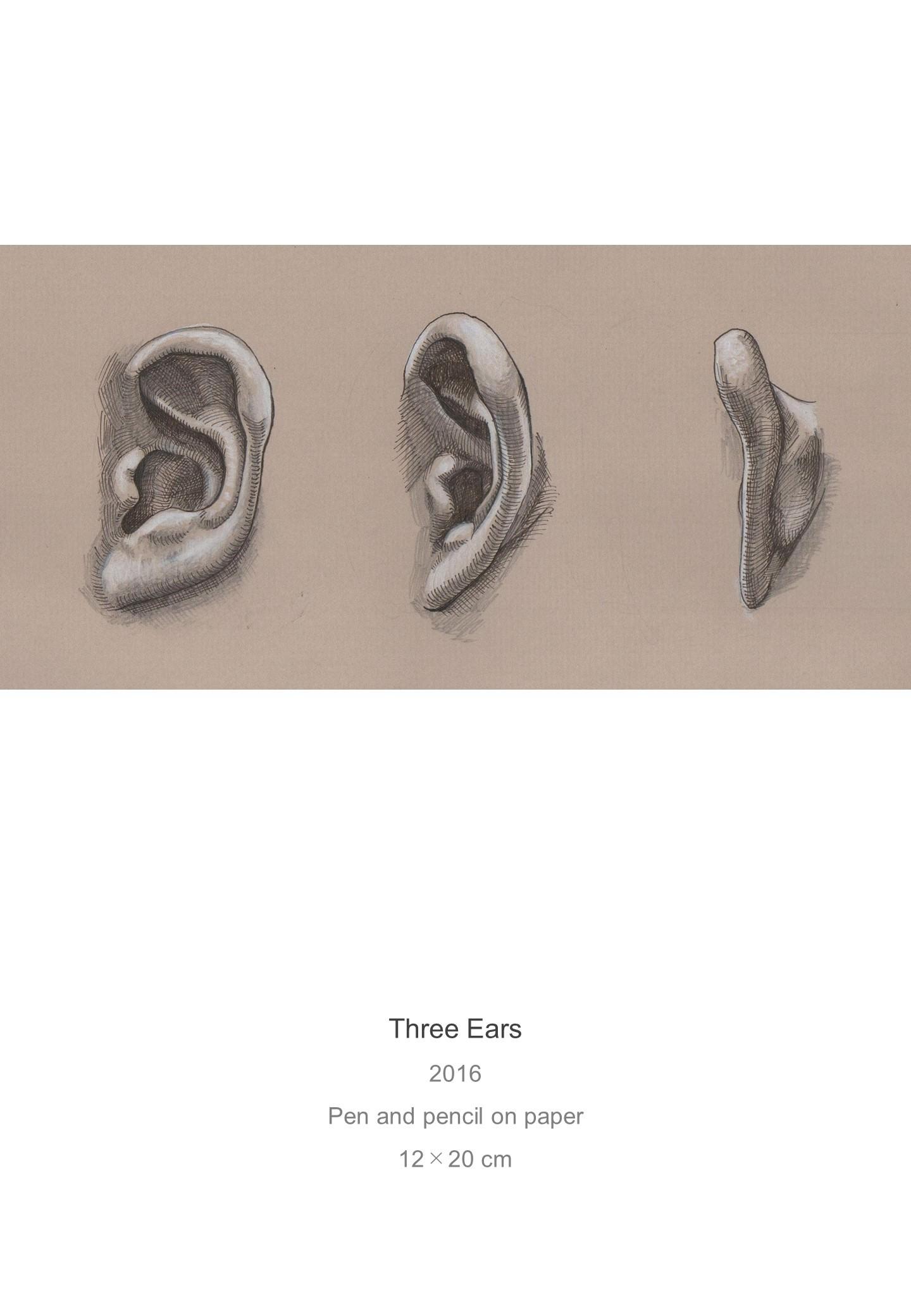 Shota Imai's Artwork of Three Ears