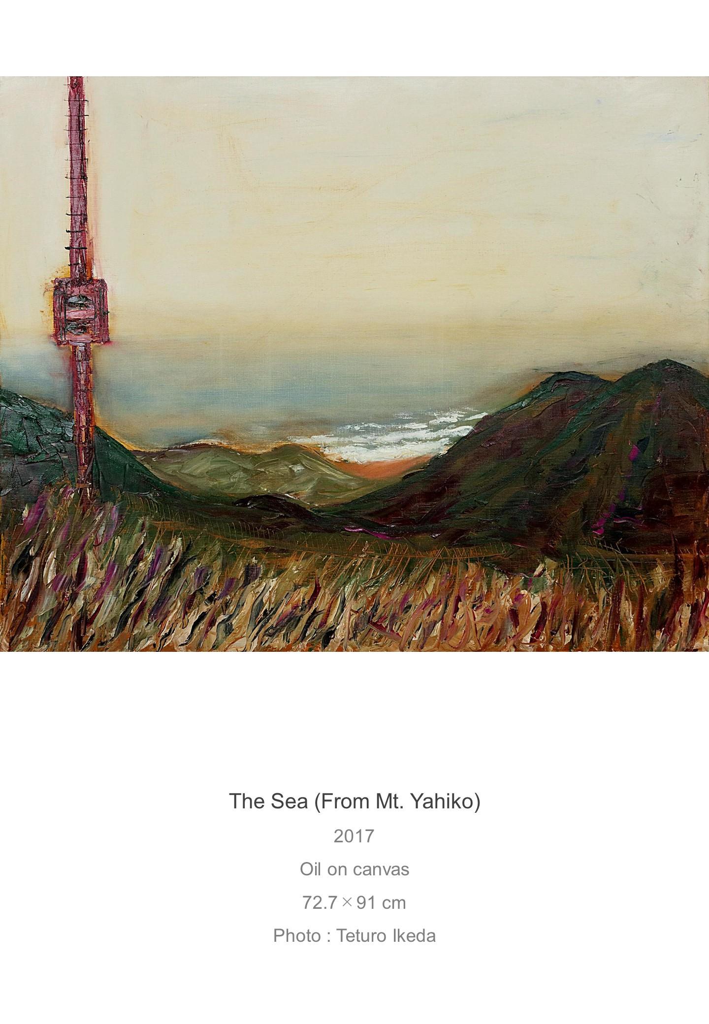 Shota Imai's Artwork of The sea (From Mt, Yahiko)